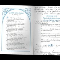 Embracing Newtown Mass Cards 10