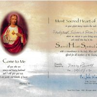 Embracing Newtown Mass Cards 101