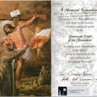 Embracing Newtown Mass Cards 107