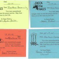Embracing Newtown Mass Cards 114