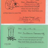 Embracing Newtown Mass Cards 118