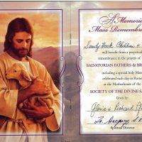 Embracing Newtown Mass Cards 127