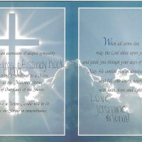 Embracing Newtown Mass Cards 128