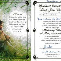 Embracing Newtown Mass Cards 129