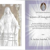 Embracing Newtown Mass Cards 131