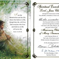 Embracing Newtown Mass Cards 134