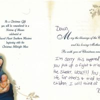 Embracing Newtown Mass Cards 137