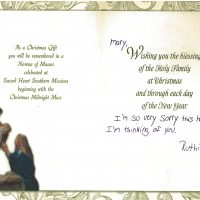 Embracing Newtown Mass Cards 138
