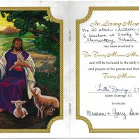 Embracing Newtown Mass Cards 139