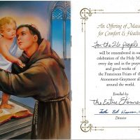 Embracing Newtown Mass Cards 140