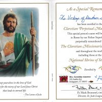 Embracing Newtown Mass Cards 142