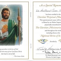 Embracing Newtown Mass Cards 145