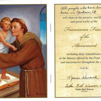 Embracing Newtown Mass Cards 146