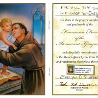Embracing Newtown Mass Cards 148
