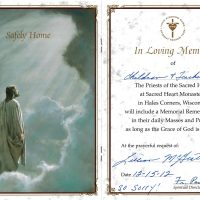 Embracing Newtown Mass Cards 149