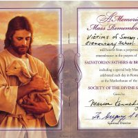 Embracing Newtown Mass Cards 150