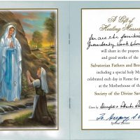Embracing Newtown Mass Cards 156