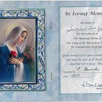 Embracing Newtown Mass Cards 157