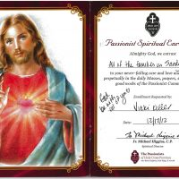 Embracing Newtown Mass Cards 164