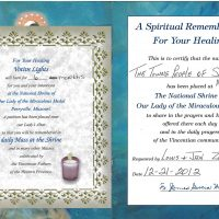 Embracing Newtown Mass Cards 165