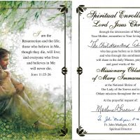 Embracing Newtown Mass Cards 169