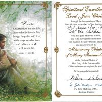Embracing Newtown Mass Cards 170