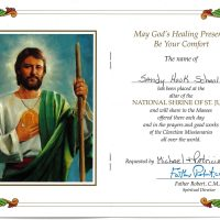 Embracing Newtown Mass Cards 171