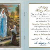 Embracing Newtown Mass Cards 172