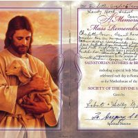 Embracing Newtown Mass Cards 174