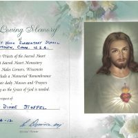 Embracing Newtown Mass Cards 176