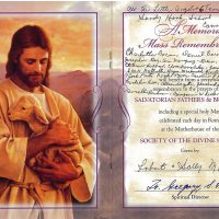 Embracing Newtown Mass Cards 177