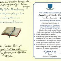 Embracing Newtown Mass Cards 178