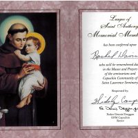 Embracing Newtown Mass Cards 180