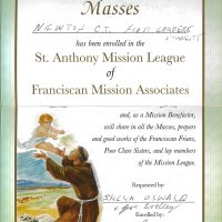 Embracing Newtown Mass Cards 181