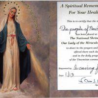 Embracing Newtown Mass Cards 192
