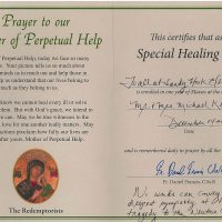Embracing Newtown Mass Cards 194