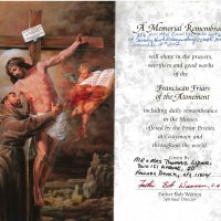 Embracing Newtown Mass Cards 2
