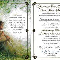Embracing Newtown Mass Cards 204