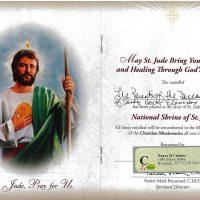 Embracing Newtown Mass Cards 205