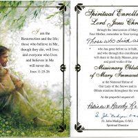 Embracing Newtown Mass Cards 209