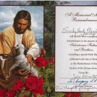 Embracing Newtown Mass Cards 211