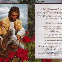Embracing Newtown Mass Cards 212