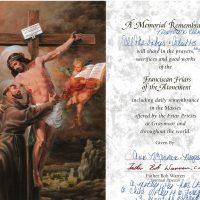 Embracing Newtown Mass Cards 218