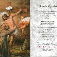 Embracing Newtown Mass Cards 222