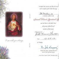 Embracing Newtown Mass Cards 236