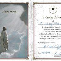 Embracing Newtown Mass Cards 237