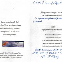 Embracing Newtown Mass Cards 242