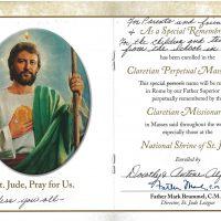 Embracing Newtown Mass Cards 243