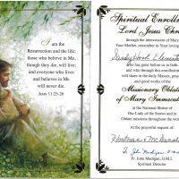 Embracing Newtown Mass Cards 247