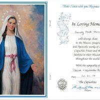 Embracing Newtown Mass Cards 25